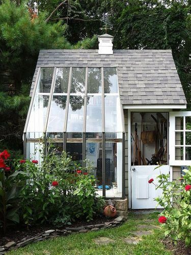 Multifunctional Potting Shed #garden #tinyhouses