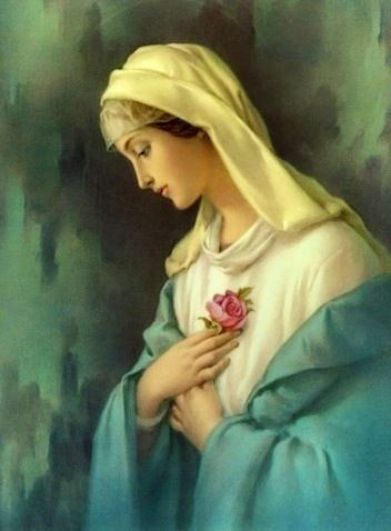 The Virgin Mary Mother of our Blessed Lord