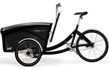 trioBike Boxter - Cargo bike with room for 4 kids