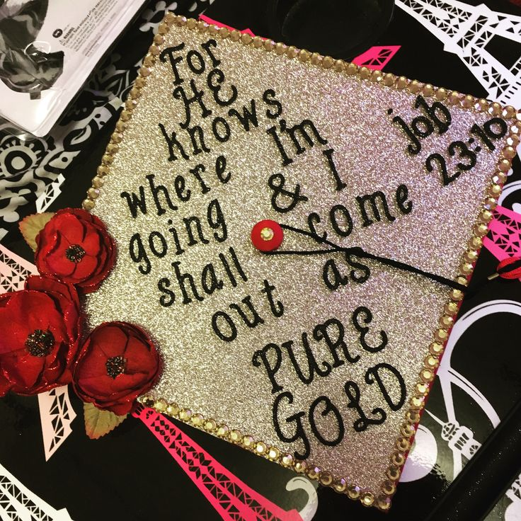 Grad cap for high school graduation
