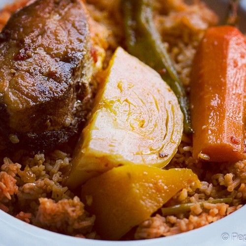 Thiéboudienne - Senegalese jollof rice - Home of African Food