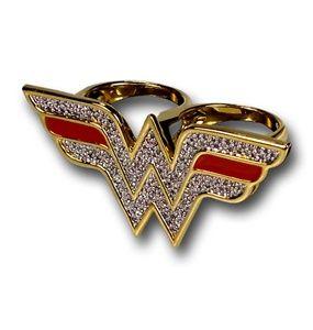 Wonder Woman ring.