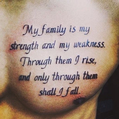 Rib Quotes Tattoos For Guys Quotesgram: Best 25+ Men Tattoo Quotes Ideas On Pinterest