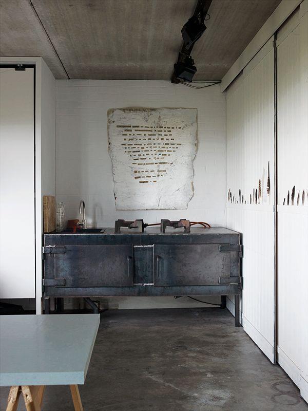 home of Dutch textile artist Paula Leen.
