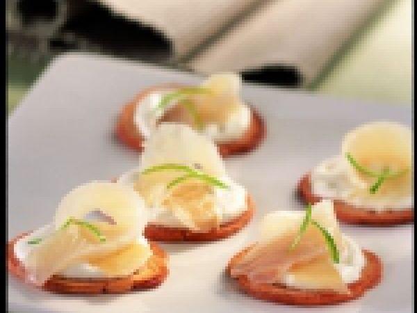 Toastjes van gerookte heilbot met mierikswortel - Femma.be !