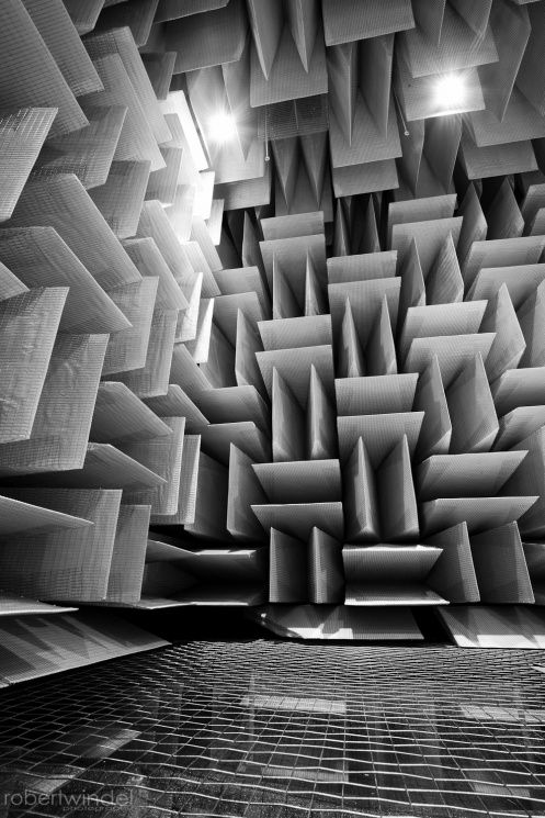 Anechoic Chamber. Come September 2015, I'll be working in one of these :)