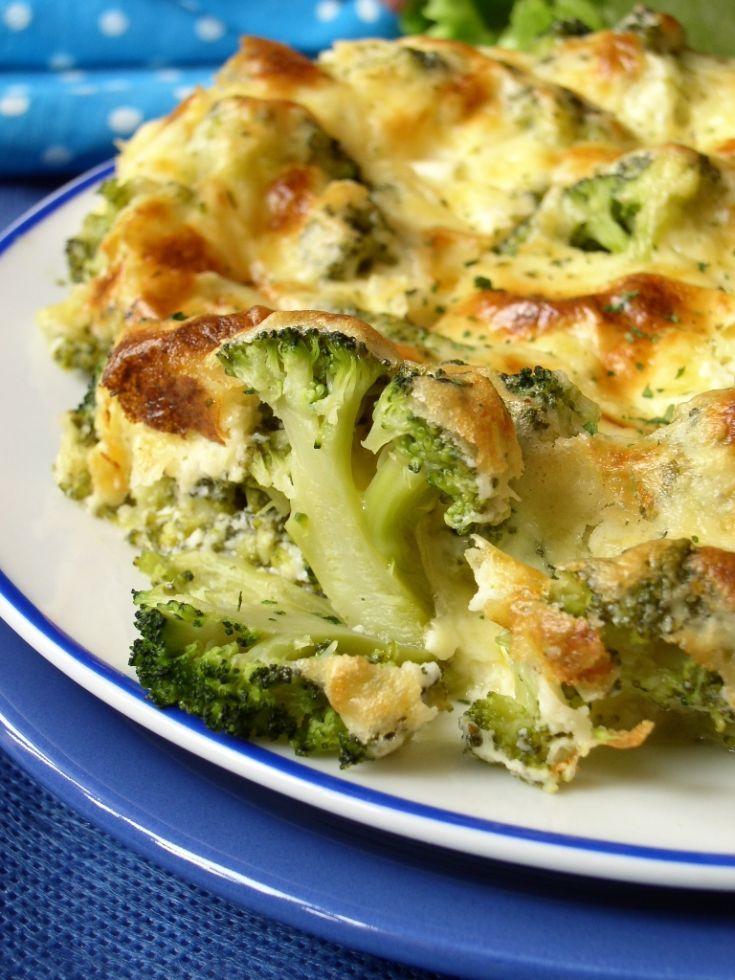 Zapekaná brokolica
