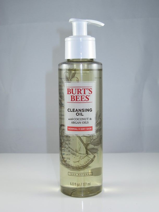 Burt's Bees Cleansing Oil - LOVE IT! Takes off waterproof mascara & rinses away clean with no oily residue.