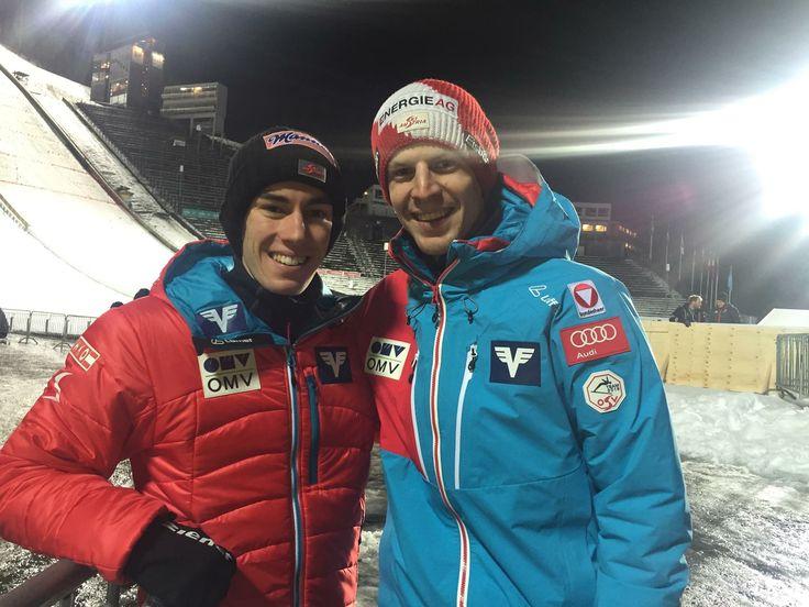 Love the friendship between Stefan Kraft and Michael Hayboeck