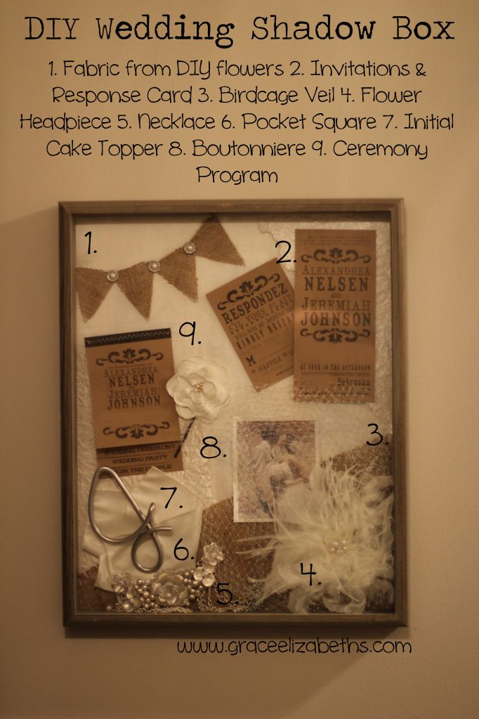 25 Best Ideas About Wedding Shadow Boxes On Pinterest
