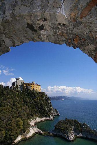 Castello di Duino in Trieste , Italy