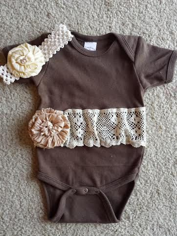 Hey, I found this really awesome Etsy listing at https://www.etsy.com/listing/181043595/embellished-country-chic-lace-onsie-with