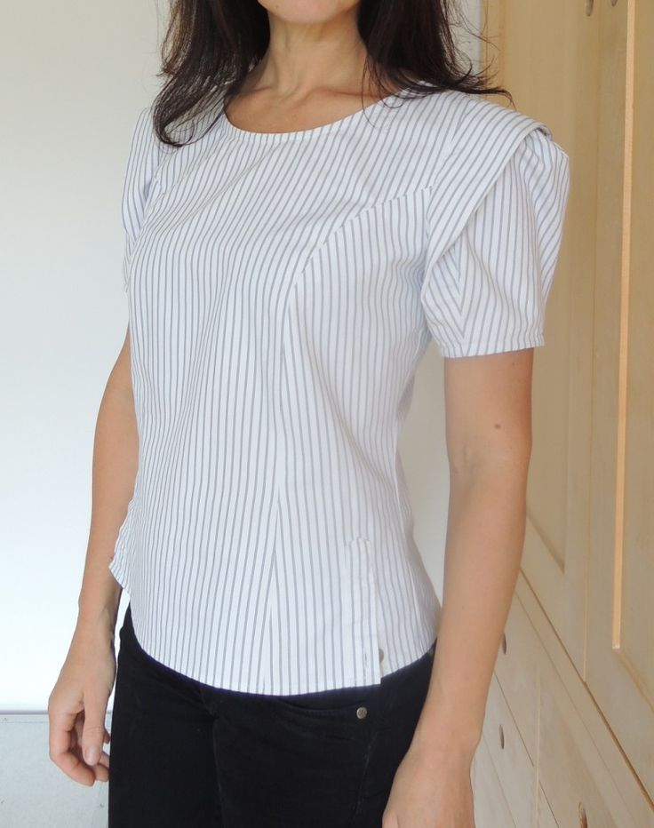 Men's Shirt Refashion - http://www.sew2pro.com/mens-shirt-refashion/                                                                                                                                                                                 More