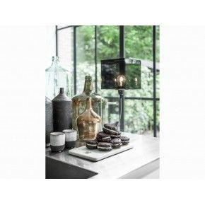 Tafellamp van plexiglas