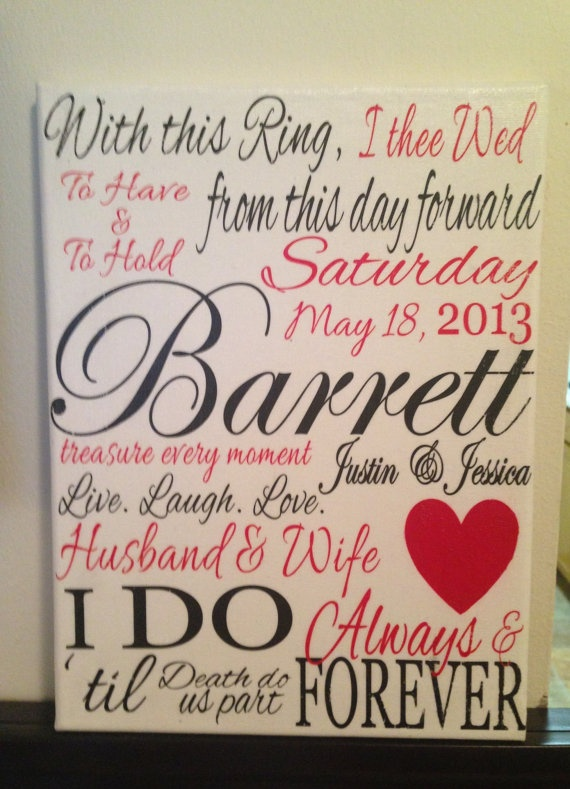 9 x 12 Personalized Wedding Couple Subway Art Rustic Looking by CreationsbyCLM, $22.00