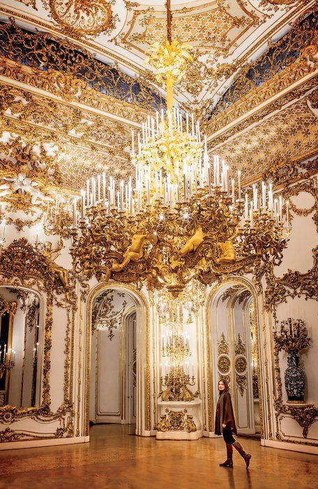 Belonging to the noble family that shares its name, the Liechtenstein City Palace is a case study in over-the-top Baroque architecture, Rococo Revival interiors, and mirrored staterooms.