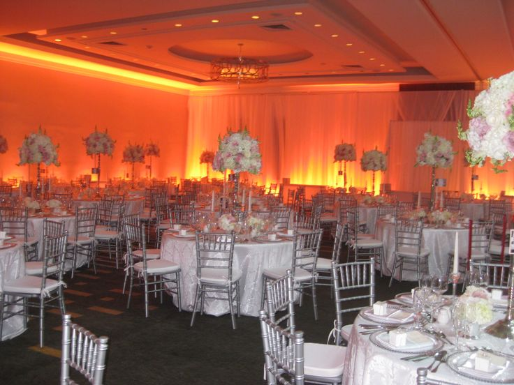 August wedding reception at the Delta Ottawa City Centre