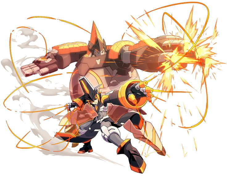 Asroc Powered Up from Azure Striker Gunvolt 2
