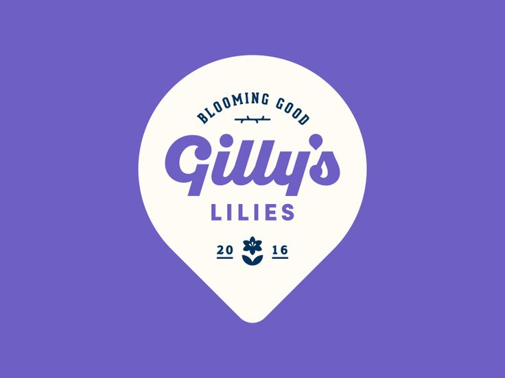 Gilly's Lilies Logo