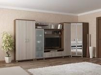 Модульная система Милана для гостиной комнаты.Модульная стенка Сенатор.Модульная система Милана для гостиной комнаты и спальни.Большое количество модулей (мини-стенка,угловые шкафы,шкафы для одежды,тумбы под телевизор,стеллажи,кровати,тумбы прикроватные,стенка,модульная мебель для гостиной,в гостиную) поможет Вам собрать свою неповторимую гостиную.
