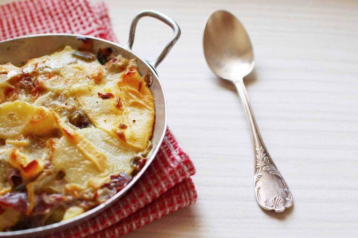 Découvrez la recette tartiflette au magret de canard sur cuisineactuelle.fr.