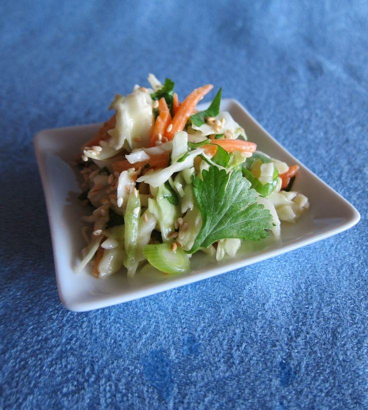 Creamy Asian Slaw | Recipe | Coconut, Asian coleslaw and Milk