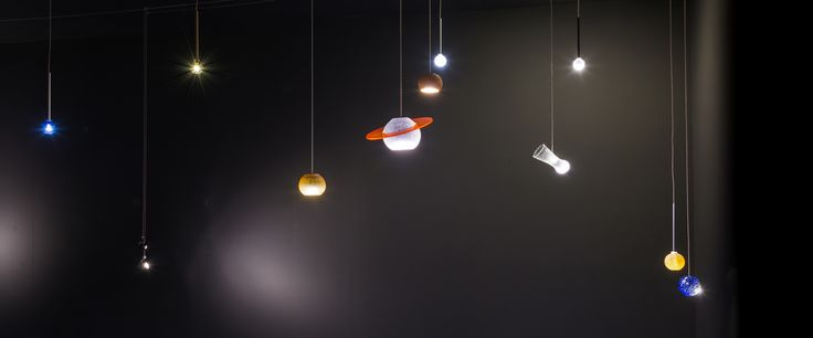 Enjoy your personal Universe. Saturn, Mars, Jupiter...will guide you with their light. Universo LED - design Pepe Tanzi for ALBUMlights www.album.it