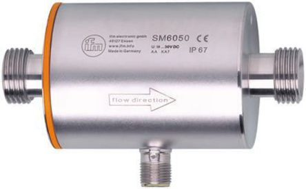 ifm electronic 0 → 25 L/min M12 Connector Analogue Flow Controller, 19 → 30 V dc