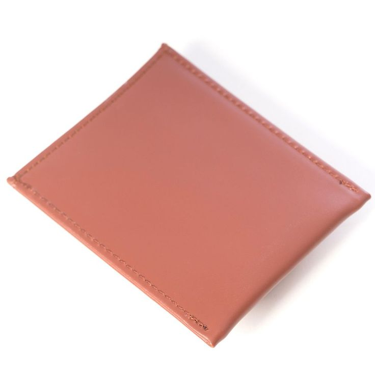 Bey-Berk Leather Magnetic Money Clip Wallet, Men's, Brown