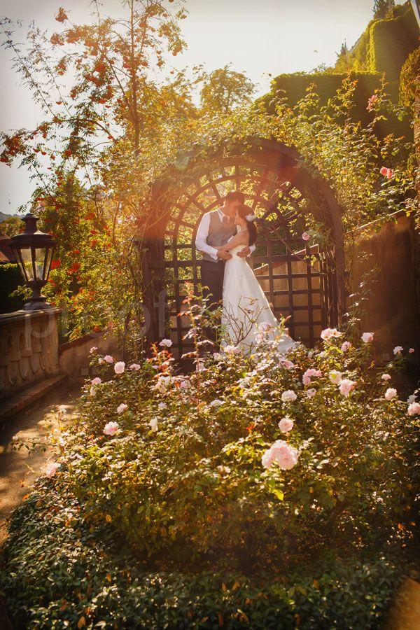 Pre Wedding Best of in Prague: a garden under Prague Castle: http://pragueweddingphotography.com
