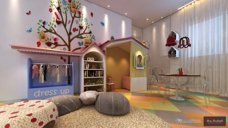 Art Area For Kids Playrooms Reading Nooks