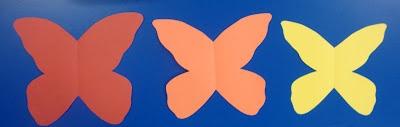 Art. Paper. Scissors. Glue!: Color Theory Butterflies