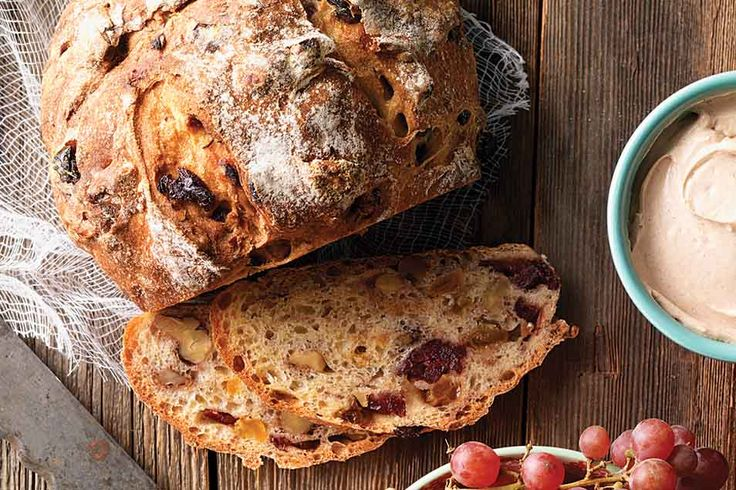 No-Knead Harvest Bread | Recipe | Breads, Recipe and King ...