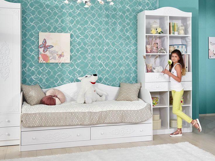 Купить Ариэль Диван-кровать 511.020, Детская - Одноярусные кровати в Волгодонске | Цена, размеры, инструкция по сборке, отзывы | Интернет-магазин мебели «Любимый Дом»
