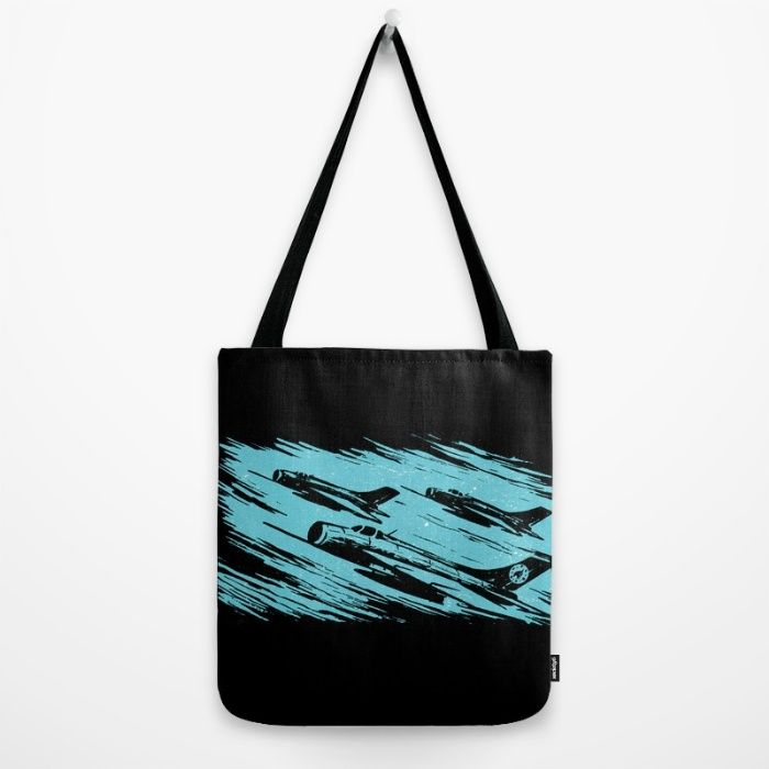 """""""Earth Aerospace Force"""" Tote Bag by fluxionist. Worldwide shipping available at Society6.com."""