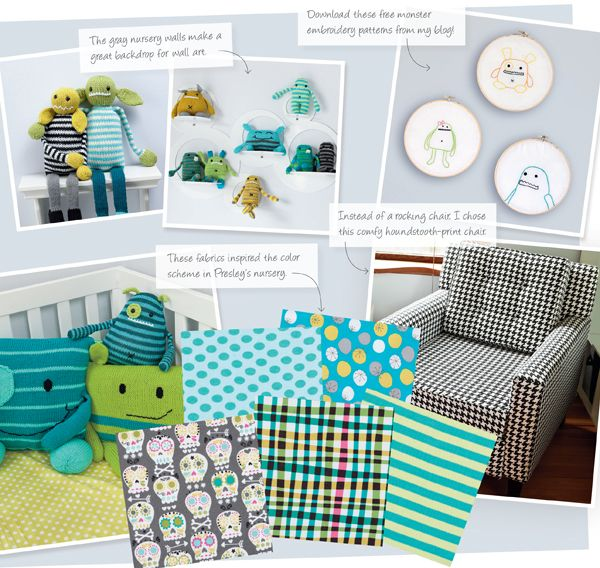 Accessorizing Your Monster Nursery