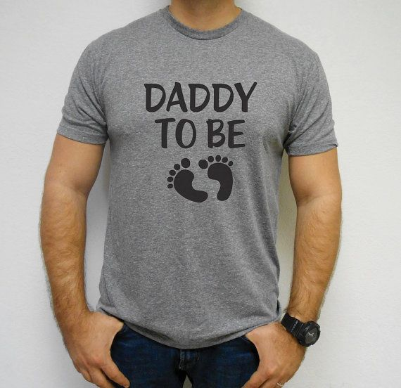 Daddy-To-Be-Shirt Dad Shirt Dad To Be Daddy To by MomasteClothing