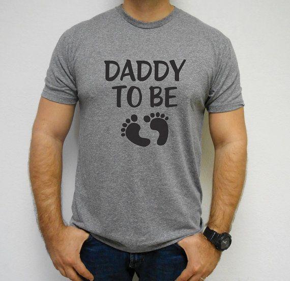 Daddy-To-Be-Shirt Dad Shirt Dad To Be Daddy To by MomasteClothing
