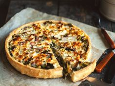 Delicious  Soft cheese and vegetables tart | jernejkitchen