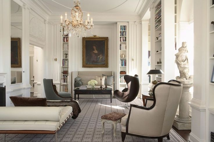 modern traditional living room How To Create Modern Victorian Interiors