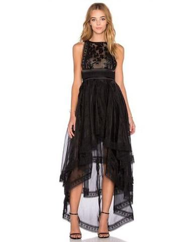 LACE IRREGULAR SKIRT EVENING DRESS  Dress Only $46.00