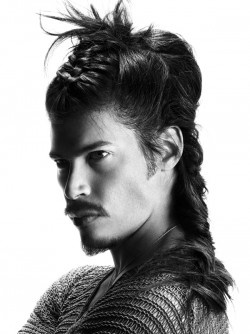 So I kind of wish this is how they did the hair of the Dothraki warriors on Game of Thrones #nerd  Hair: Emiliano Vitale, eSalon, Australia  Photos: Paul Scala