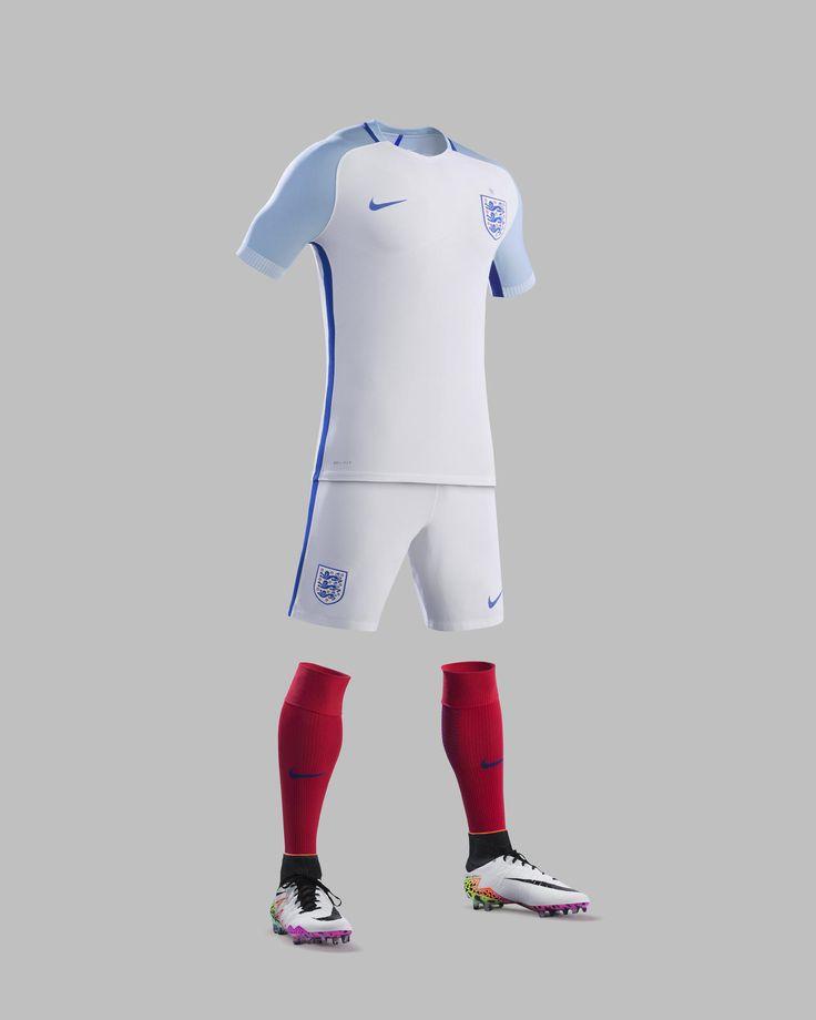 England 'Euro 2016' Nike Home Shirt - Football Shirts News