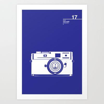 17_coolstuff_I Art Print by Iris & Floss - $18.00