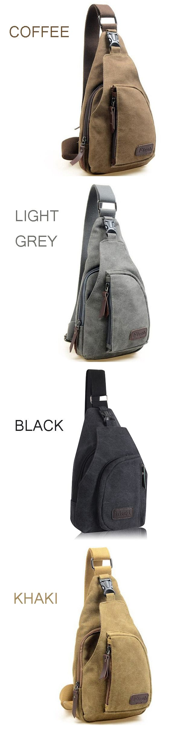 US$ 9.99~11.99+ Free shipping. Men Bag, Men Backpack, Canvas Bag, Canvas Backpack,Shoulder Bag, Chest Bag, Hiking Bag. Color: Khaki, Light Grey, Coffee, Army Green Material: Canvas. Excelent Material with High Quality yet Low Price.
