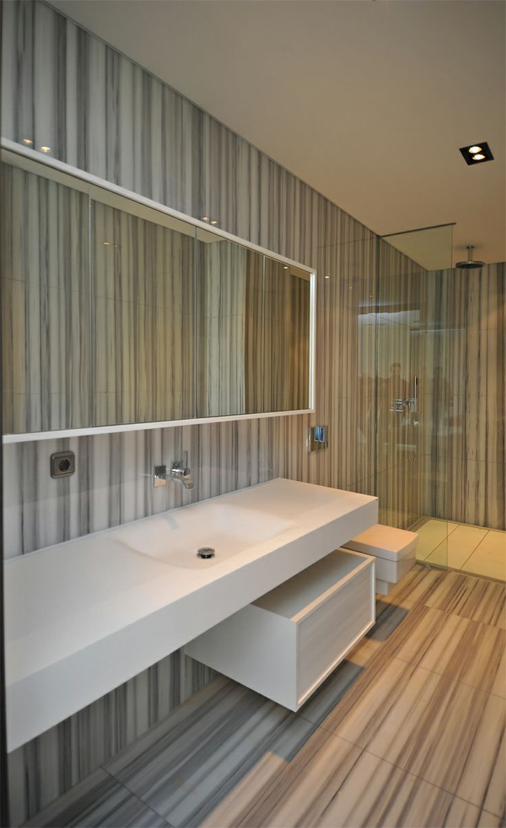 Marina Palas #Istanbul #Turkey A residential project located in a famous location. Teuco designed the #bathrooms using its patented material #duralight