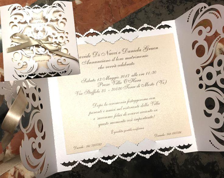 Wedding card invitation Roma Esposizione fiera degli sposi 2017 Bergamo