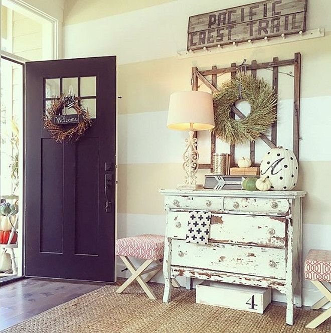 Luxury Farmhouse Interior Design: Best 25+ Foyer Decorating Ideas That You Will Like On
