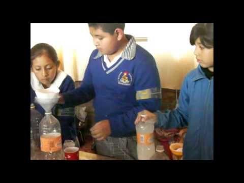 (35) Experimento para purificar agua 5° grado.wmv - YouTube