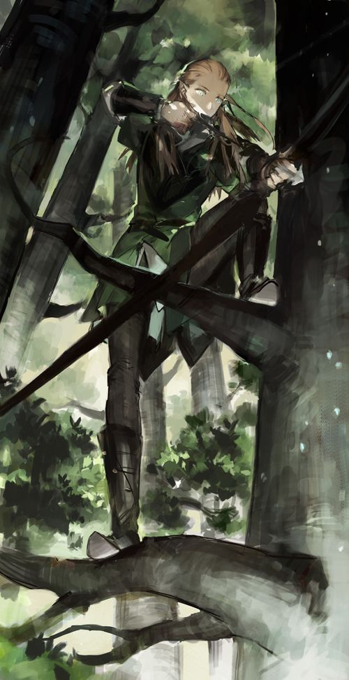 Tags: Anime, Fanart, The Lord of the Rings, Pixiv, STAR Shadow Magician
